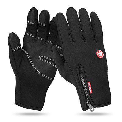 Touchscreen Fleece Handschuhe für 4,24€