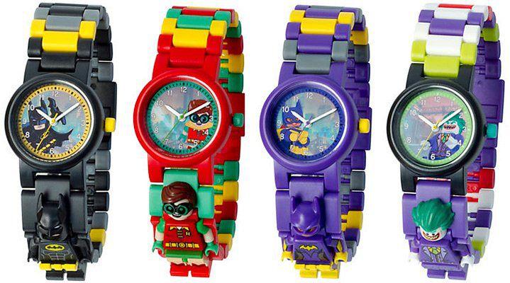 Verschiedene THE LEGO® BATMAN MOVIE   Kinderuhren für je 15,99€ (statt 19€)