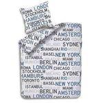 Seersucker Bettwäsche Bügelfrei 135×200 + 80x80cm für 9,95€ (statt ~30€)