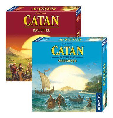 Bundle: Die Siedler von Catan & Erweiterung Seefahrer für 34,34€ (statt 51€)