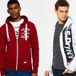 Superdry Hoodies & Zipper für Damen und Herren neue Modelle je 37,95€