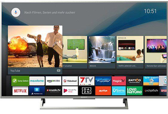 Vorbei! Sony KD 49XE8077 LED TV (Flat, 49 Zoll, UHD 4K, SMART TV, Android TV) für 688€ (statt 1.089€)