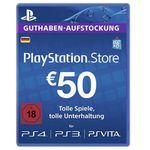 50€ Playstation Network Guthaben für 43,19€