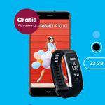 Huawei P10 lite + Smartwatch Huawei Band 2 Pro + o2 Allnet-Flat + 3GB LTE für 18,28€ mtl.