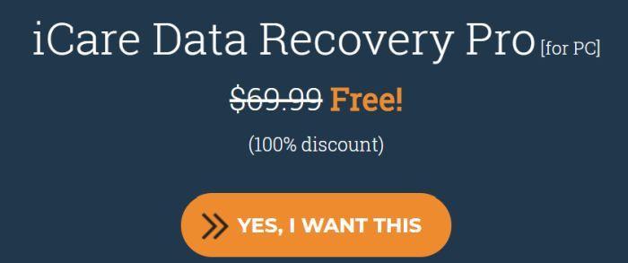 iCare Data Recovery Pro (1 PC Lifetime Lizenz) kostenlos