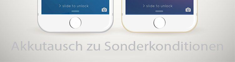 NEWS: Sonderkonditionen beim Apple iPhone Akkutausch