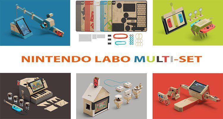 Nintendo Labo vorbestellen für 69,99€   79,99€