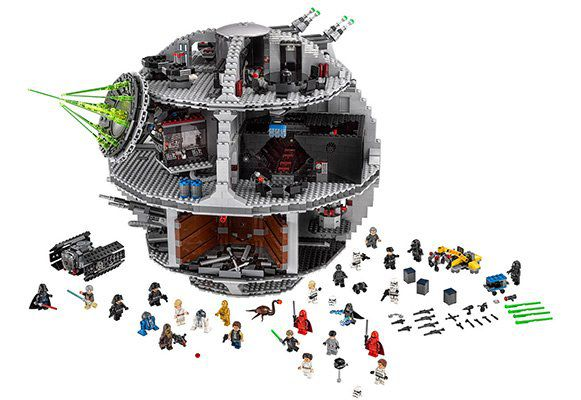Lego Star Wars Todesstern (75159) für 382,49€ (statt 462€)