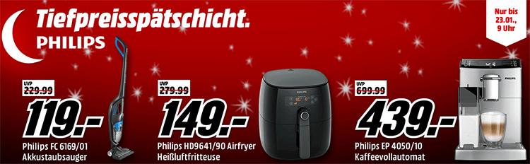 Media Markt Philips Tiefpreisspätschicht – z.B. Philips Bluetooth Lautsprecher für 59€ (statt 95€)
