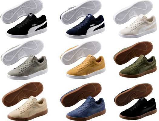 Puma Smash V2 Sneaker in 7 Farben für je 38,95€ (statt 50€)