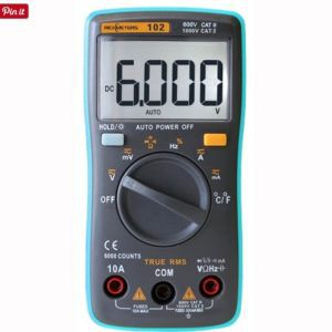 RICHMETERS RM102 Digital Multimeter für 10,74€