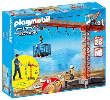 Playmobil City Action   Baukran mit Zubehör (9399) für 43,94€ (statt 58€)