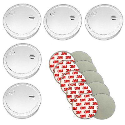 Xeltys   5er Set Rauchmelder inkl. Magnetbefestigung + Klebepads + 5J. Batterie  für 19,99€ (statt 25€)