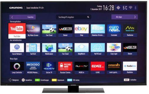 Grundig 65 GUB 9790   65 4K LED Fernseher mit Smart TV Funktion für 759€ (statt 1.136€)