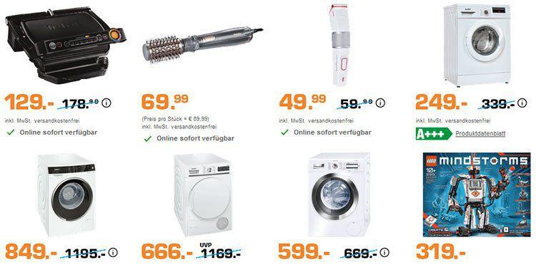 Saturn Start Was Aktion: z.B. COMFEE WM 8014.1 Waschmaschine für 249€ + 30€ Coupon
