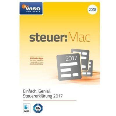 WISO steuer: Mac 2018 als CD Box (Steuerjahr 2017) für 19,99€