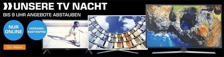 Saturn TV Nacht mit Fernsehern von Samsung, LG, Philips, Panasonic wie z.B. LG 55SJ8509 für 999€ (statt 1.149€)
