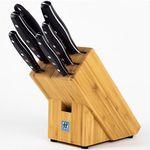 Zwilling Twin Pollux 6-teiliges Messerset mit Messerblock für 129,99€ (statt 154€)