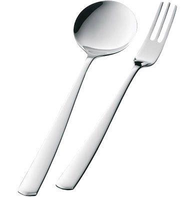 WMF Bistro Cromargan 18/10 Pastabesteck 2 tlg. für 6€ (statt 16€)