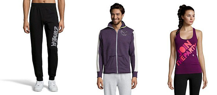 Zumba Fitness Kleidung bei vente privee   z.B. Sport BHs ab 9€