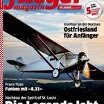 Jahresabo Fliegermagazin für 74,40€ inkl. 70€ Amazongutschein