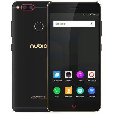 Nubia Z17 mini   Smartphone (mit LTE Unterstüzung, 5.2, 4GB, 64GB, Fingerprint) für 157,53€ (statt 211€)