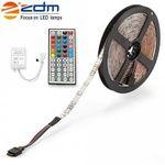 ZDM 5M LED Strip mit Fernbedienung für 4,09€