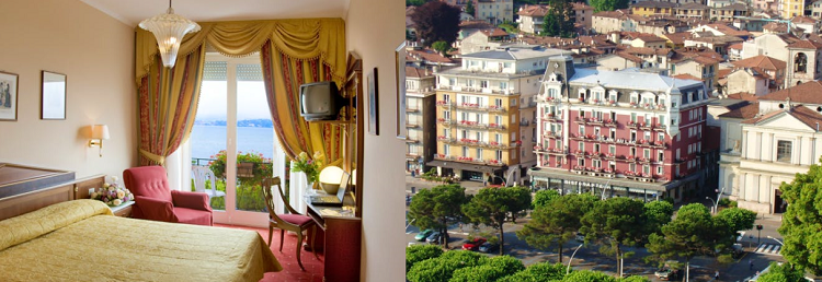 3 oder 7 ÜN im 4* Hotel am Lago Maggiore inkl. Frühstück und Bootsfahrt ab 189€ p. P.