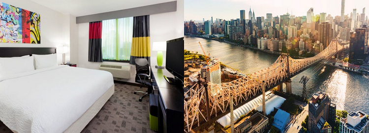 3   7 ÜN in New York im 3* Hotel inkl. Flüge in Queens ab 579€ p.P.