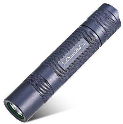 Convoy S2+ mit Cree XML2 LED Taschenlampe für 6,94€ (statt 10€)