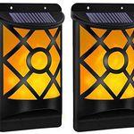 2er Pack: B-right LED Solar-Wandleuchte für Außen für 16,49€ (statt 33€)