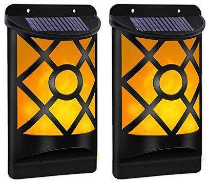 2er Pack: B right LED Solar Wandleuchte für Außen für 16,49€ (statt 33€)