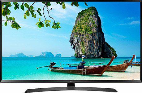 LG 43UJ635V LED Fernseher (108 cm/43 Zoll, 4K Ultra HD, Smart TV) für 379,90€