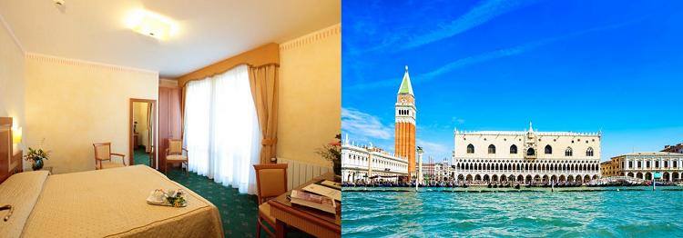 3   4 ÜN im 3* Hotel in Venedig inkl. Frühstück, Stadtplan, Casinoeintritt & Flug ab 139€ p.P.