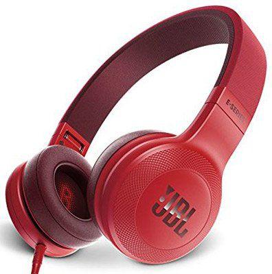 JBL E35 On Ear Kopfhörer im faltbaren Design mit 1 Tasten Fernbedienung & Abnehmbarem Mikrofonkabel für 41,89€ (statt 55€)