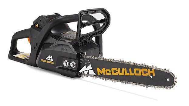 McCulloch LI 40 CS   Akku Kettensäge für 159€ (statt 190€)