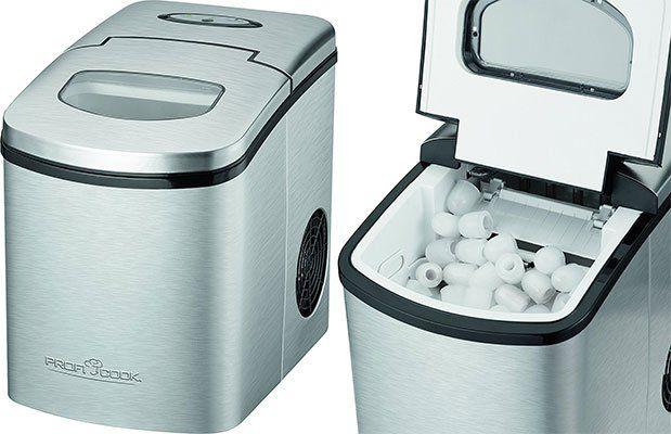 ProfiCook PC EWB 1079   Eiswürfelbereiter (10 15 kg Eiswürfel in 24 Std.) für 115€ (statt 129€)