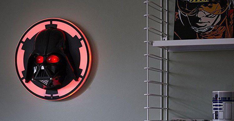 Darth Vader 3D Wandleuchte von Philips für 23€ (statt 30€)