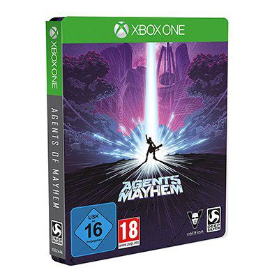 Agents Of Mayhem Day One Steelbook Edition (Xbox One) für 14,98€ (statt 40€)