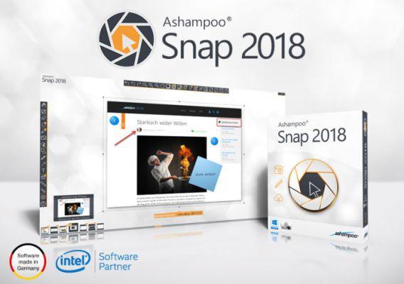 Ashampoo Snap 2018 (Vollversion) gratis
