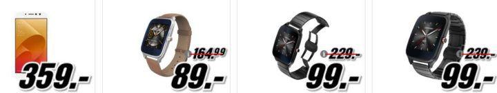 Media Markt ASUS Tiefpreisspätschicht   günstige, Notebooks, Smartphones u. Smartwatches