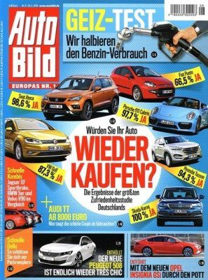 Top! 13 Ausgaben Auto Bild inkl. 30€ Amazon Gutschein für 29,90€