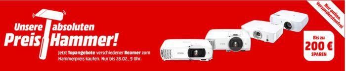 MM Preishammer: FullHD Beamer ab 299€
