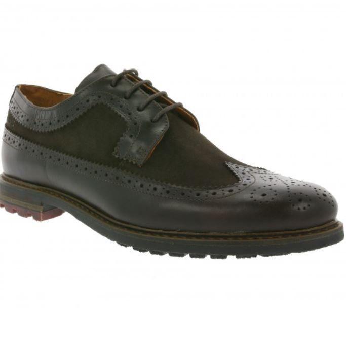 Marc Shoes Brentwood Herren Brogue Echtleder Halbschuhe Restgrößen für 39,99€