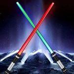 2er Pack Lichtschwerter für echte Star Wars Fans für nur 6,54€