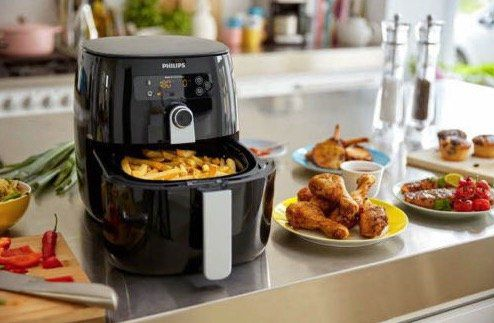 Philips Avance Collection Airfryer HD9643/10 TurboStar Fritteuse für 143,99€ (statt 280€)