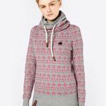 Naketano Damen Pullover mit All-Over-Muster für 39,90€ (statt 60€)