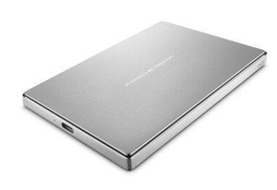 LaCie Porsche Design Mobile Drive USB C Festplatte (extern) mit 4TB für 109€ (statt 122€)