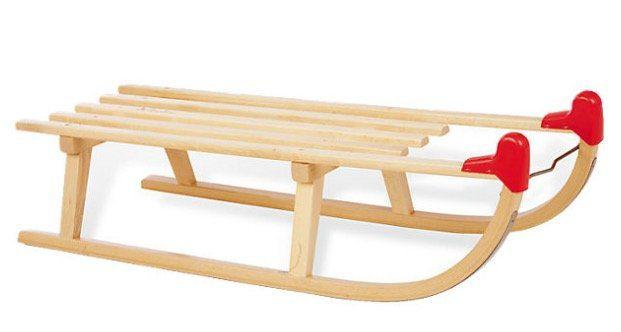 Pinolino Davos Schlitten aus Holz für 27,94€ (statt 50€)