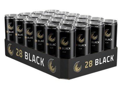 72er Packs 28 Black Energy Drinks für 55€ inklusive 18€ Pfand